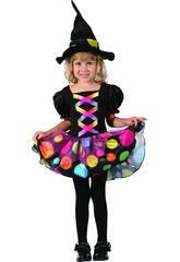 Kostüm Babys S Hexe mit Tupfen