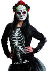 Maschera Catrina Fiori