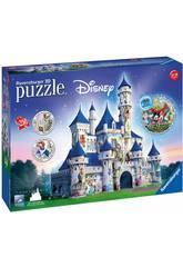 Puzle 3D Château Disney 216 Pièces Ravensburger 12587