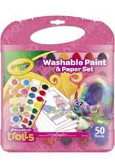 Trolls Peinture Lavable Crayola
