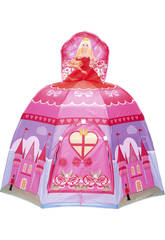 Maisonnette Tissu Princesse + 100 Balles 7 cm