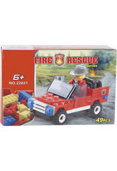Veicolo Pompieri 49 pezzi