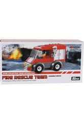 Camion Pompieri 85 pezzi