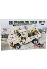 Juego de Construcción Vehículo Militar Off Road 175 Piezas