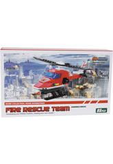 Elicottero Pompieri 86 pezzi