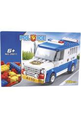 Furgón Policial 108 piezas