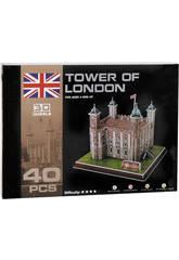 Puzzle 3D Tower of London 40 pièces