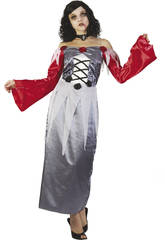 Kostüm Vampirin Zombi Frau Größe XL