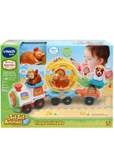 Tut Tut Animals Comboio Animado Vtech 192722