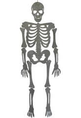 Esqueleto Gris Eva Con Brillo 155 cm.