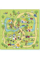 Set Puzzle Eva 9 Pièces Ferme