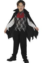 Costume Vampiro Con Mantello Ragazzo XL