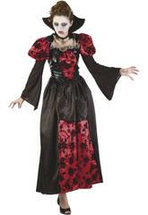 Vampiresa Gothic Woman Costume Tamanho L