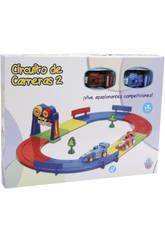 Circuit de Courses pour enfants Avec 2 Voitures