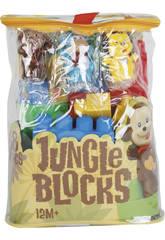 Sac Bloques Jungle 48 Pièces