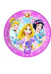 Principesse Glamour pack 8 piatti 20 cm.