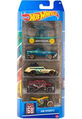 Hot Wheels Pack 5 Véhicules