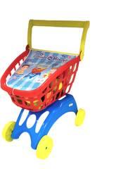 Chariot supermarché avec accessoires