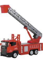 Camion jouet 1:43 Pompiers 22cm