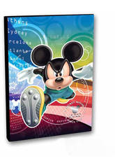CARPETA 4 ANILLAS MICKEY OLYMP
