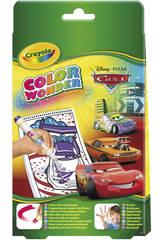Cars mini album para colorear con rotuladores