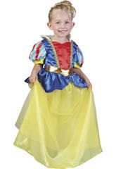 Disfarce Princesa das Neves Bebé Tamanho S