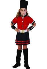 Disfraz Guardia Niña Talla S
