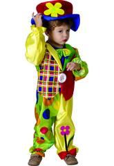 Disfraz Payaso para Bebé Talla S