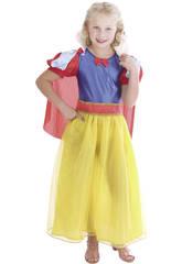 Disfraz Princesa de las Nieves Lazo Niña Talla XL