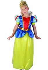 Maschera Principessa delle Nevi Bambina Taglia XL