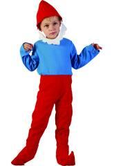 Déguisemen Gnome Rouge Bébé Taille M