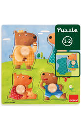Puzzle Famille Ours