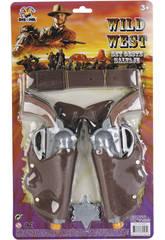 Set dos revolver del oeste