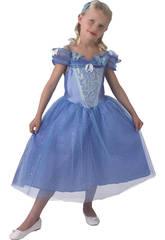 Menina do traje Cinderela ao vivo Ação T-L Rubies 610777-L