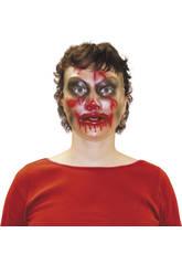 Máscara Transparente Mujer Zombie Rubies S3178