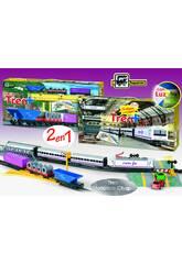 Train de voyageurs et marchandise Renfe