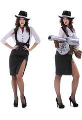 Disfraz Mujer L Mujer Gángster