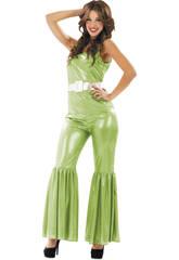 Déguisement Femme L Disque Vert