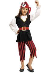 Disfraz Niña M Pirata Calavera