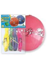 Busta di 4 palloncini punch ball