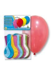Sachet de 24 ballons gonflables couleurs opaque Globolandia 5105