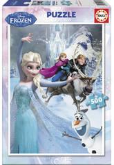 Puzzle 500 Frozen Educa 16267