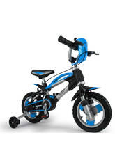 Bicicleta 12 Elite Blue 3 AÑOS INJUSA 12001