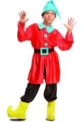Disfraz Niño S Enanito Rojo