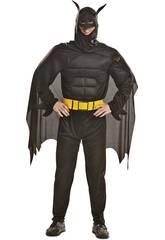 Disfraz Hombre S Blackman Musculoso