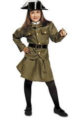 Disfraz Niña L Guardia Civil Mujer