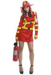 Déguisement Femme L Pompier