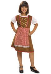Disfraz Niña L Tirolesa