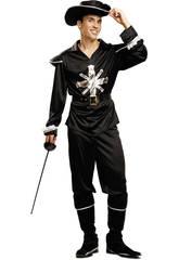 Disfraz Hombre L Mosquetero Negro
