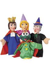 Marionetas Cuentos Infantiles 4 Piezas